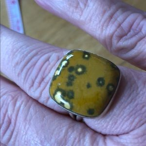 Jewelry - Jasper and silver ring